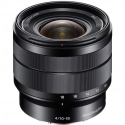 Sony E 10–18 mm F4 OSS