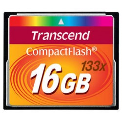 Transcend CF 16gb 133X memory card