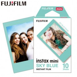 Fujifilm Instax SKY BLUE FRAME instant Film 10 photo sheet