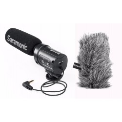 Saramonic SR-M3 MIC WITH M3-WS FURRY WINDSCREEN