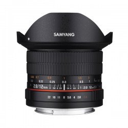 Samyang 12mm f2.8 ED AS NCS Fish-eye objektyvas