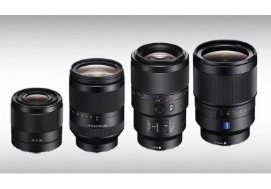 Sony E lenses