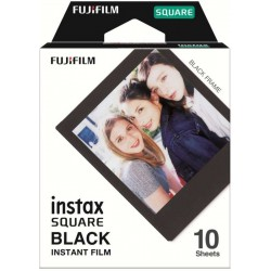 Fujifilm Instax Square Instant Film Black 10 sheets