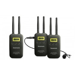 Saramonic VmicLink5 (TX+TX+RX) Wireless System