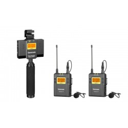 Saramonic UwMic9 Kit 13 (TX9 +TX9+SP-RX9) Wireless Microphone System