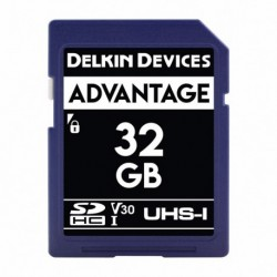 Delkin SD Advantage 660X UHS-I U3 (V30) R90/W90 32GB