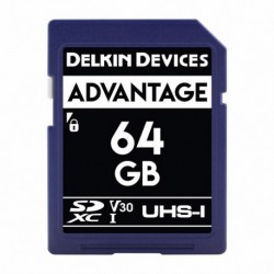 Delkin SD Advantage 660X UHS-I U3 (V30) R90/W90 64GB