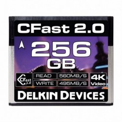 Delkin Cfast Cinema 2.0 R560/W495 256GB