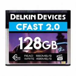 Delkin Cfast Cinema 2.0 R560/W495 128GB (VPG-130)