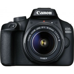 Canon EOS 4000D + 18-55mm EF-S DC III