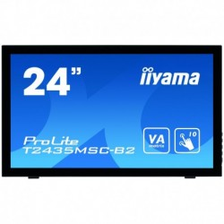 Iiyama Touch screen monitor with edge-to-edge glass and webcam PROLITE T