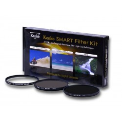 Kenko SMART FILTER KIT PROTECT / C-PL / ND8 filtrų rinkinys 37mm-82mm