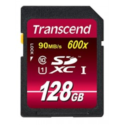 TRANSCEND SDXC/SDHC 128GB CLASS 10 UHS-I 600X (ULTIMATE) memory card
