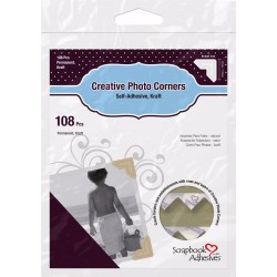 Photo corners Nature 108pcs